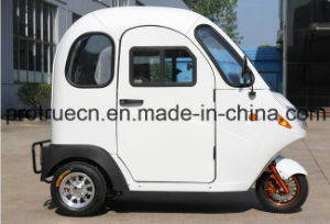Green Power Electric Tricycle with Closed Body pictures & photos