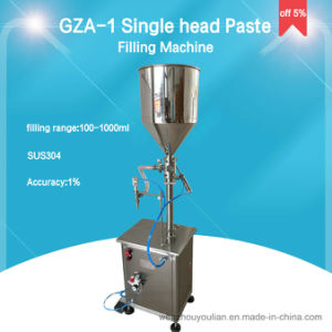 Vertical Type Single Head Piston Paste and Liquid Filling Machine pictures & photos