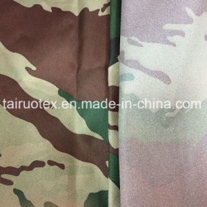 Coated Camouflage Printed Taslon for Tent Fabric pictures & photos