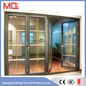 Thermal Break Exterior Aluminum Bifold Door pictures & photos