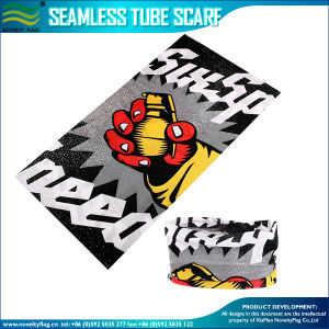 Customized Microfiber Polyester Multifunctional Seamless Neck Tube Bandana (A-NF20F20001) pictures & photos