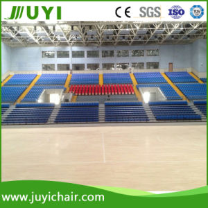 New Telescopic Grandstand Retractable Bleacher with Folding Chair Jy-720 pictures & photos