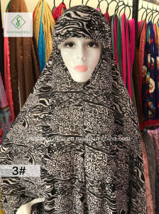 100cm*110cm 100% Polyester Fashion Moslem Printed Sleeve Cap pictures & photos