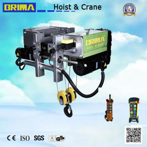 Germany 10ton European Type Electric Wire Rope Hoist (BMG-10092mm5) pictures & photos