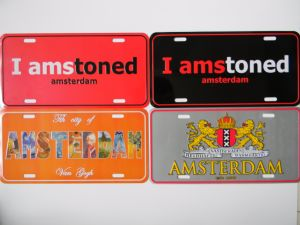 Custom Printed Decorative Aluminum Metal Car License Plates pictures & photos