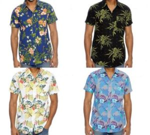 Men′s Hawaiian Aloha Cruise Tropical Beach Party Shirts (A662)