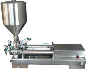 Semi Automatic Filling Machine Labeling Machine for Liquid Cream Oil Ointment Viscous Beverage pictures & photos