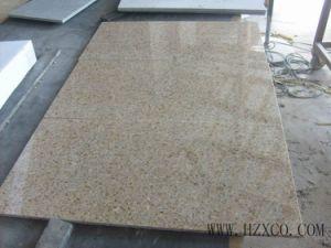 G682 Granite Slab, Rusty Yellow Granite Slab, Misty Yellow Granite pictures & photos