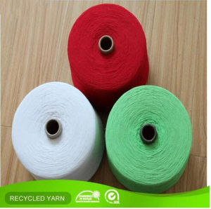 Ne12s Optical White OE Cotton Blended Yarn for Knitting Sock pictures & photos