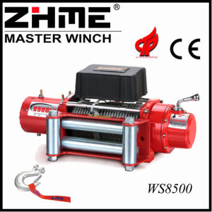 8500lbs 12V 4X4 Electric Winch with Hook pictures & photos