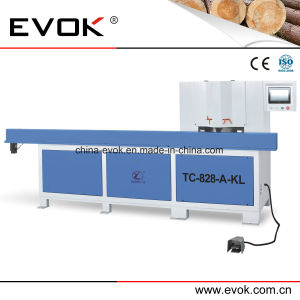 High Precision Aluminum Profile Automatic Dual Saw Cutting Machine (TC-828AKL) pictures & photos