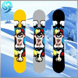 Mixed Wood Printed Design Professional Custom Snowboard pictures & photos