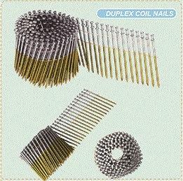 Q195/Q235 Coil Nails Duplex Roofing Nails pictures & photos