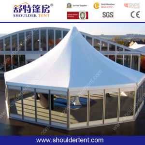 Shoulder Easy Pop up Marquee for Trade Show, Pagoda Tent pictures & photos