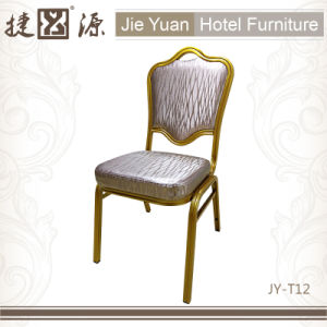 Hotel Restaurant Furniture Stackable Steel Chair (JY-T12) pictures & photos