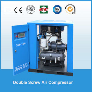 37kw 4.6~6.5m3/Min Stable Performance Stationary Belt Driven Screw Air Compressor pictures & photos