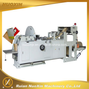 Nuoxin Brand Square Bottom Paper Bag Making Machine pictures & photos