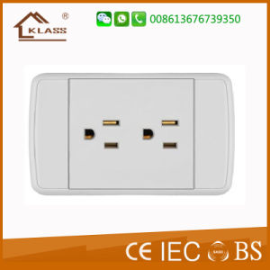 High Quality Thailand PC Copper Material 1 Way 3pin Socket pictures & photos
