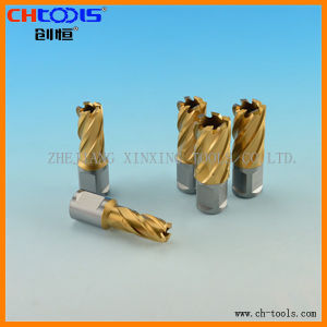 HSS Annular Cutter Magnetic Drill with Weldon Shank pictures & photos