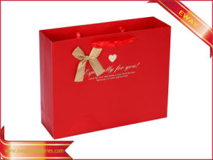Paper Shopping Bag Printing Garment Packing Promotional Bag pictures & photos