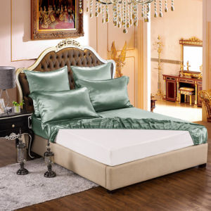 Thxsilk Solid Color Twin Queen King Size Silk Bed Sheets pictures & photos