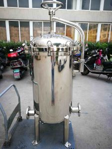 Stainless Steel Liquid Multi Bag Filter Housing for Water Filtration System pictures & photos