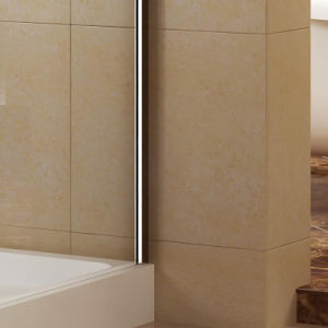 Aluminum Profiles Rectangle Corner Shower with Single-Side Tempered Glass (K-332) pictures & photos