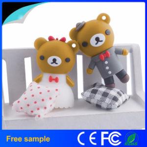 Custom PVC 3D Lovely Bear USB Flash Drive pictures & photos
