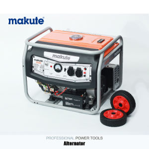 5.5HP 220V/380V Portable Gasoline/Petrol Generator with Switch (GE-2500) pictures & photos