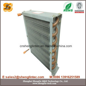 Copper Tube Aluminum Fin Condenser for Air Cooled Chiller pictures & photos