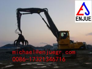 Excavator Grab for Bridge Construction Excavator Grab Excavator Grapple pictures & photos