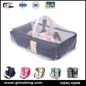 Portable Multifunctional Baby Diaper Bag for Travel pictures & photos
