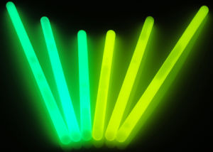 Promotion Gift Glow Plastic Stick for Vocal Concert, Christmas. Halloween pictures & photos