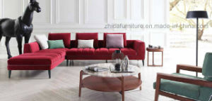 High Quality Sectional Sofa Modern Fabric Simple Sofa #Ms1406 pictures & photos