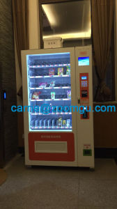 Combo Vending Machine for Drinks and Snacks with Ce Certification 10 pictures & photos
