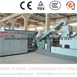 Plastic Granulator Pelletizing Machine with Side Force Feeder (SJ140/SJ150) pictures & photos