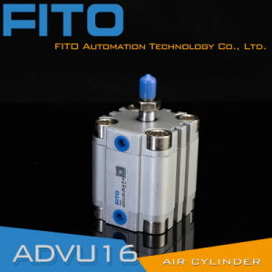 Advu16 Series Compact Pneumatic Air Cylinder pictures & photos