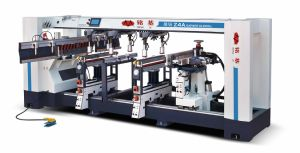 High Acuracy Four Rows Woodworking Drilling Machine pictures & photos