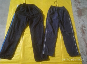 Pakistan Style Recycling Military Nylon Pants Wholesale Used Cotton Trouser Clothing pictures & photos