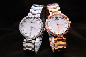 Quality Stainless Steel Metal Wrist Watches for Ladies pictures & photos