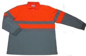 Wholesale Custom 100% Cotton Mens Long Sleeve Polo Shirt pictures & photos