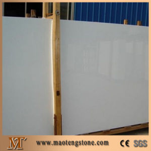Pure White Artificial Marble Stone Snow White Artificial Marble pictures & photos