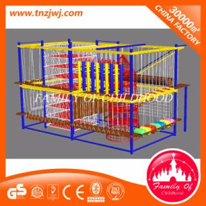 Children Indoor Rope Courses Playground Equipment for Climbing pictures & photos