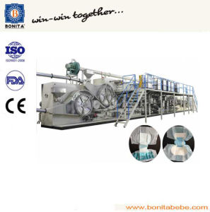 Full Servo High Speed Disposable Adult Diaper Machine