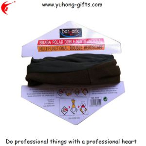2015 Black Polar Fleece Headscarf in Packing Card (YH-HS115) pictures & photos