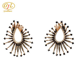 Silver Jewelry 3A CZ Earring for Woman with 925 Sterling Silver (E6953C) pictures & photos