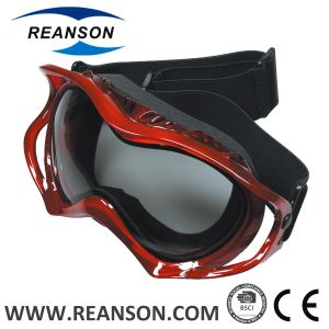 Reanson Double Spherical Lenses Anti-Fog Skiing Goggles pictures & photos