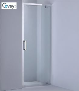 Single Hinge Showerdoor/Shower Screen for Small House (AKW09-D)