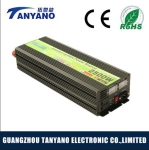 2500W 12V DC to 110V AC off Grid Solar Inverter with UPS pictures & photos
