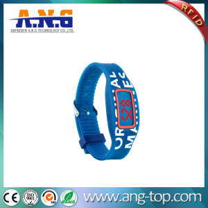 RFID Silicone Bracelet Wristband 13.56MHz Frequency for Access Control pictures & photos